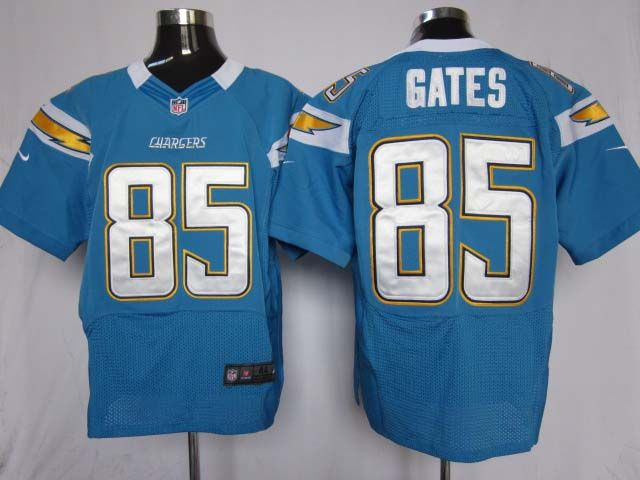 ... Nike NFL Elite Jerseys San Diego Chargers Antonio Gates 85-light  Blue a45492395