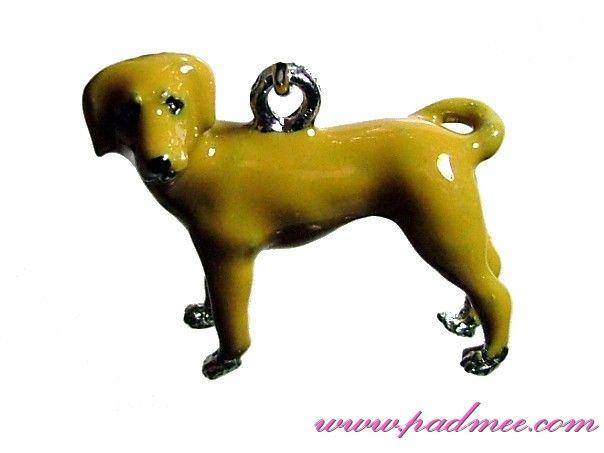 Porte-clés Labrador chocolat 3D 6.4e