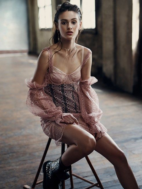 Aleyna FitzGerald Australia's Next Top Model ELLE Shoot - Image 2