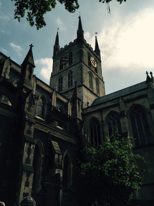 Southwark Cathedral , London Academy of Anatomical Research service of Thanks Giving May 15th 2015