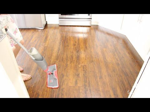 how to clean and sanitise laminate floors