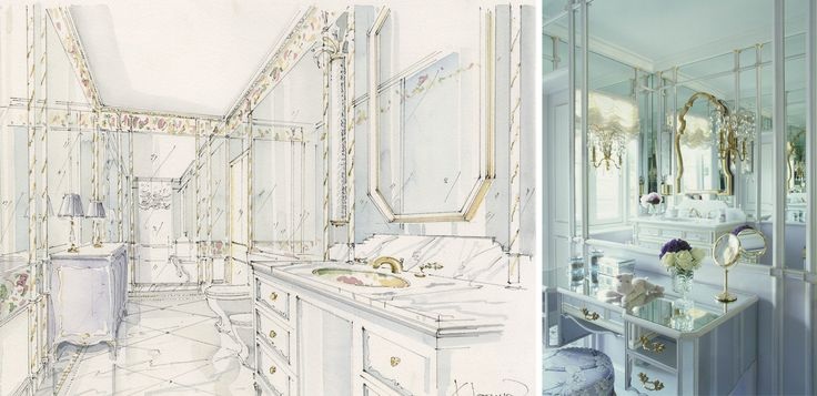 Эскизы для проекта шато | Проекты | Kirill Istomin