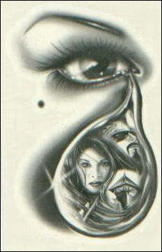 Lowrider Arte Love   TearDrop
