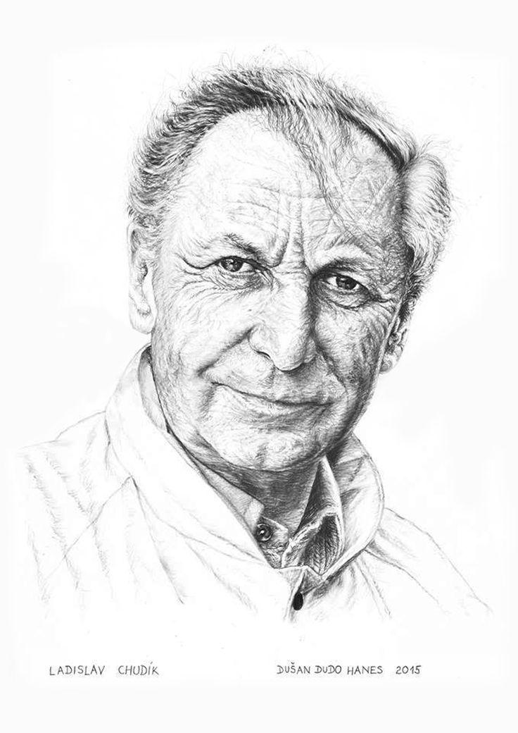 Ladislav Chudík, portrét Dušan Dudo Hanes