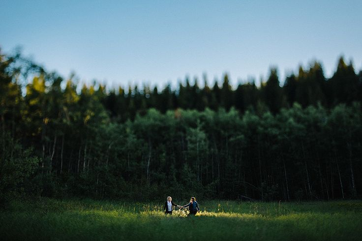 Nature inspired engagement photos.