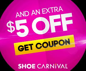 Shoe Carnival: $5 Off Coupon (Back to School Shopping!) - Raining Hot Coupons