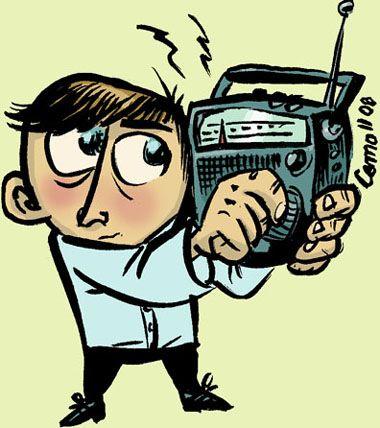 Radio fan.
