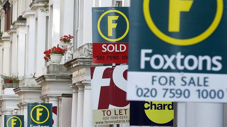 """The housing market has started the year """"on the back foot"""" after prices rose at their slowest pace in six months and estate agents reported a dearth of buyers and homes coming up for sale. Halifax..."""