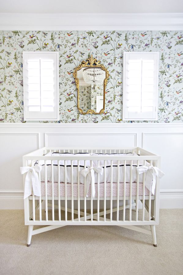 How To Design A Sophisticated Nursery: http://www.stylemepretty.com/living/2015/11/06/how-to-design-a-sophisticated-nursery/