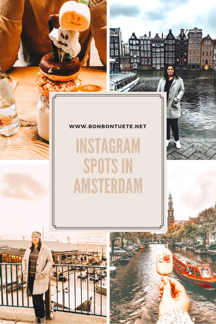 Top Photospots for Instagram in Amsterdam