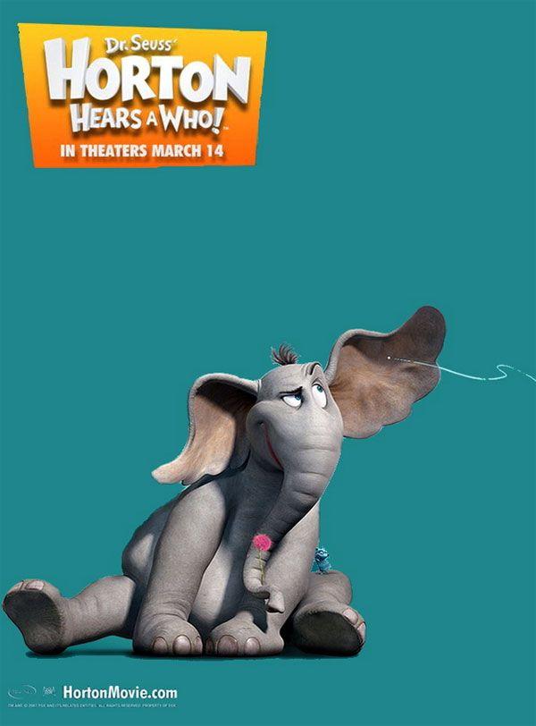 """스테판's Movie Story :: 짐 캐리, 스티브 카렐의 3D 애니메이션 """"호튼 히어즈 어 후!"""", 새로운 포스터 공개"""