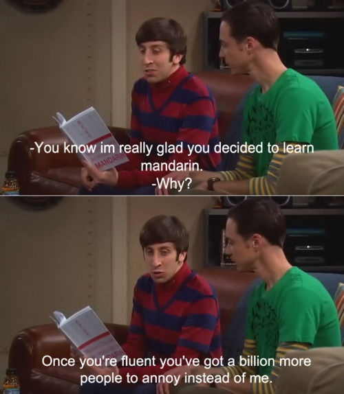 And cue Sheldon being highly affronted...