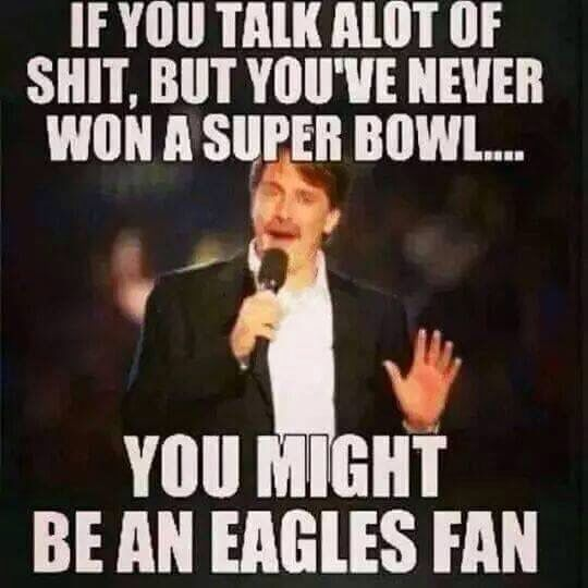 philadelphia eagles never won a super bowl
