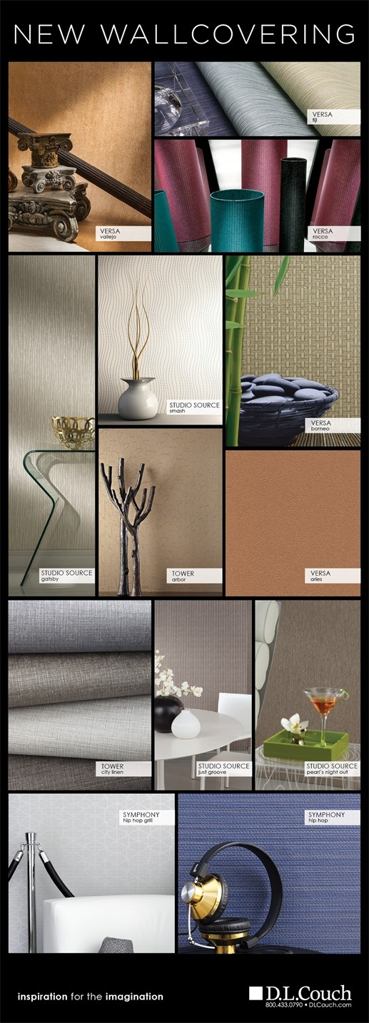 DL Couch Wallcovering Latest News Interior Design