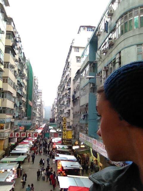 Me: lost in Hong Kong