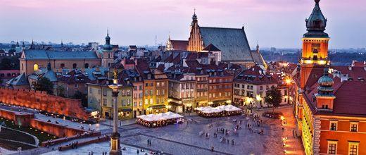 Polen: Warschau, Szenen einer Stadt | MERIAN