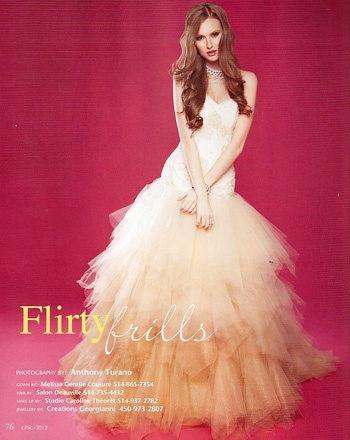 Melissa Gentile - Couture wedding gowns   Montreal wedding dresses   Ottawa   Toronto bridal