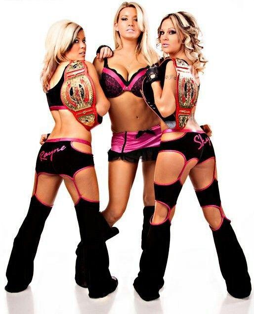 DIVAS DEL WRESTLING WWE DIVAS VS TNA KNOCKOUTS
