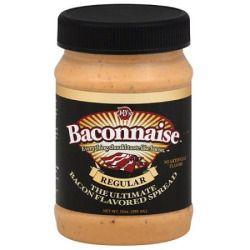 J'S Baconnaise Bacon Flavored Sandwich Spread, 15 fl oz, (Pack of 6)