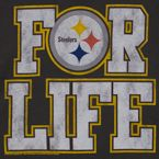 Steelers for life!!  I just needed a Steelers fix after watching the PATRIOTS win a spot in the Superbowl. ugh