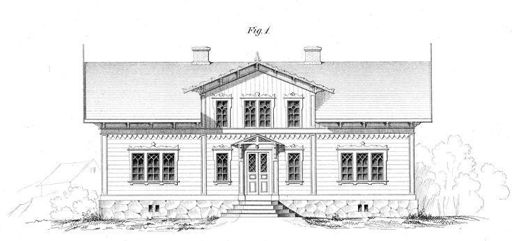 Detta måste vara en av mina favorit arkitekter Charles Emil Löfvenskiöld.