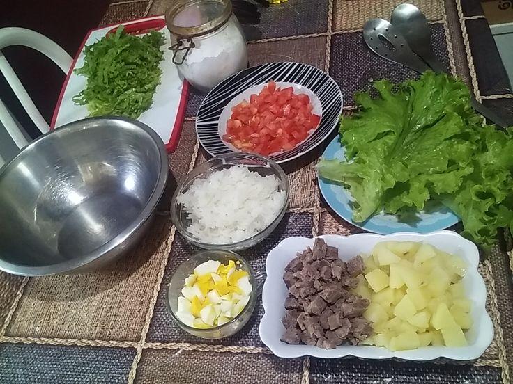 Como fazer a Salada Primavera!!Uma deliciosa opção de almoço em dias de calor!