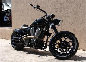 "Conquest Customs ""Special Forces""  Victory Motorcycle"