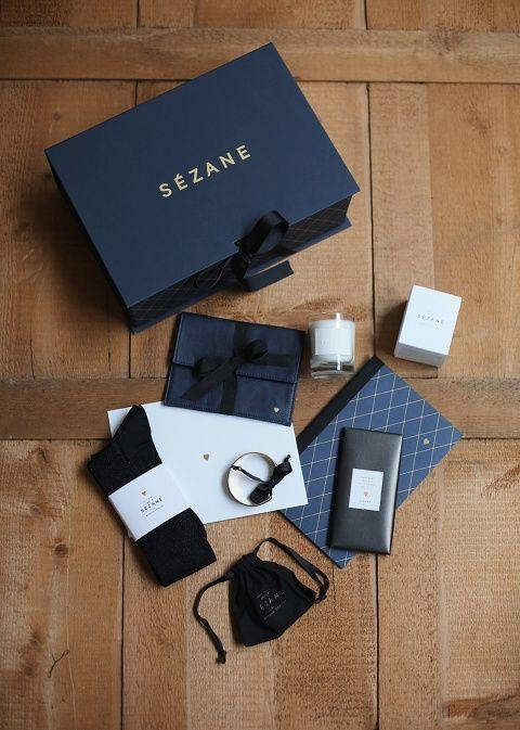 Sézane / Morgane Sézalory - Christmas box #sezane #box www.sezane.com/fr #frenchbrand