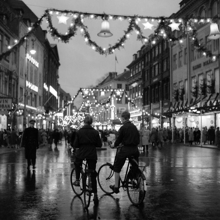 Jul på Strøget 1953.