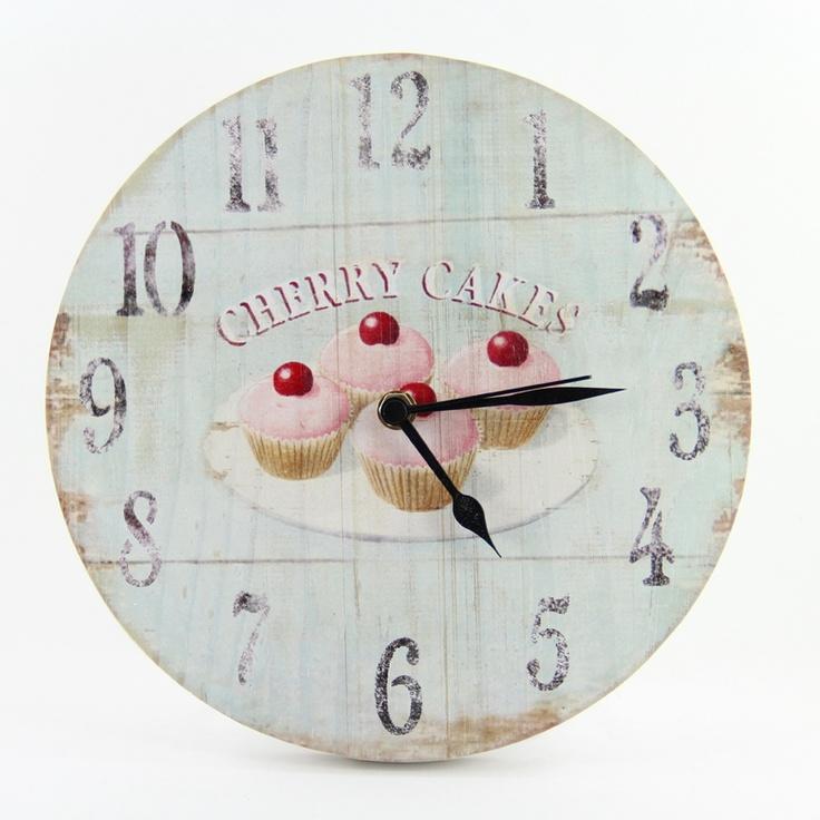 Relógio retro cozinha