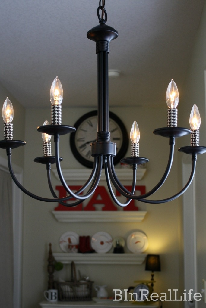 Easy and Quick way to customize your light fixturesDining Room, Crafts Ideas, Lights Fixtures, Trav'Lin Lights, Light Fixtures, Lights Updates, Easy Lights, Custom Lights Add, House Decor