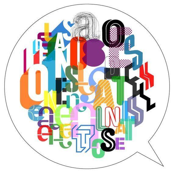 Fonts in a #Bubble by #AndréToet