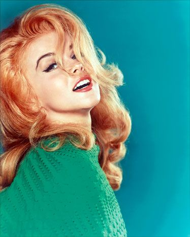 1963: Ann Margret    Good enough for Elvis. Good enough for us.        ~ Esquire The Best Redheads Ever: A Timeline