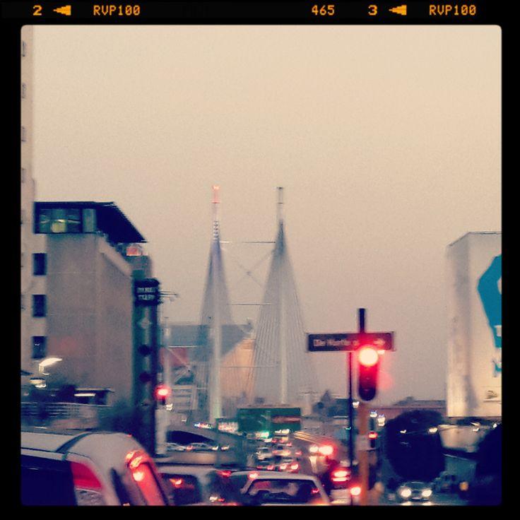 a view of Nelson Mandela bridge from the CBD #lovemycity