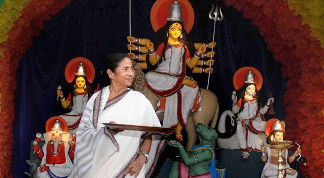 Kolkata: The Bharatiya Janata Party (BJP) on Thursday slammed West Bengal Chief Minister Mamata Banerjee for halting immersion of Durga idols on Dashami and said she is trying to divide Hindu and Muslims by issuing such directives. The West Bengal Chief Minister on Wednesday issued an order...