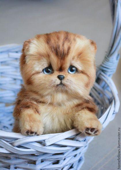 Teddy Toy Kitten Мишки Тедди ручной работы Ярмарка