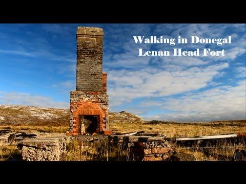 Donegal Walking - Lenan Head Fort - YouTube