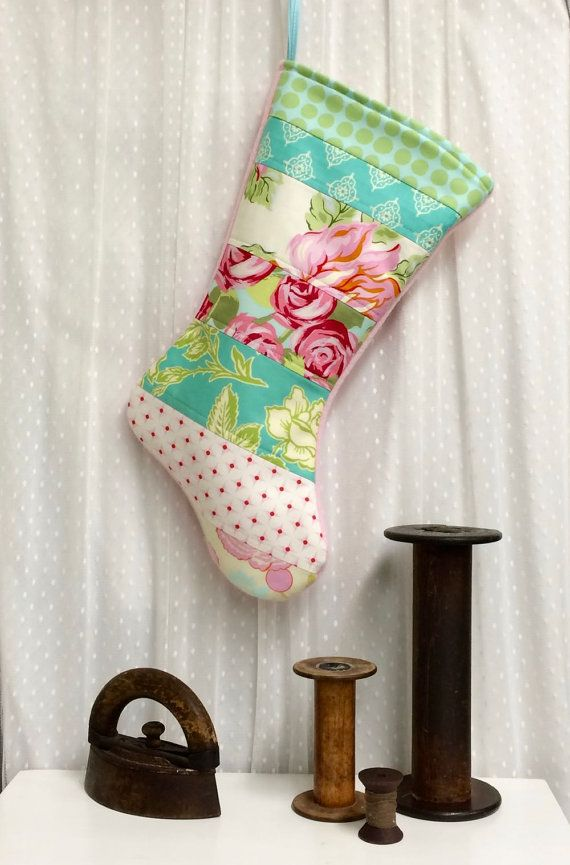 The 25 best quilted christmas stockings ideas on for Charles craft christmas stockings