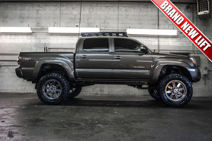 "#ONSALE 2013 Toyota Tacoma TRD Sport 4x4 with a Brand New 6"" Fabtech Performance Lift with 20"" Moto Metal 962 Wheels on 35"" x 12.50 R20 Nitto Trail Grappler Tires and Front Runner Roof Rack!"