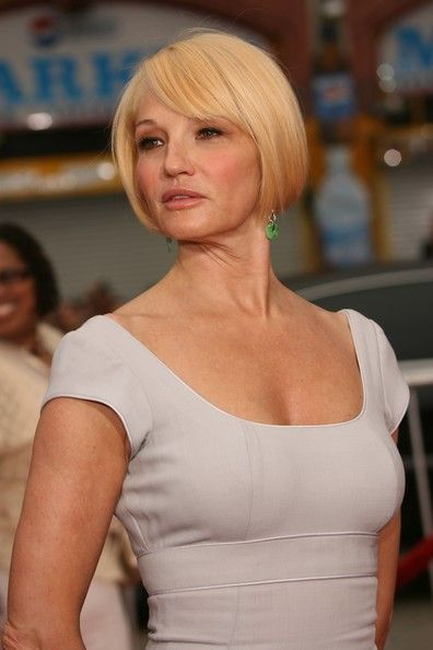"Ellen Barkin Pictures - Celebs arrive at Warner Bros. Premiere Of ""Ocean's 13"" - Zimbio"