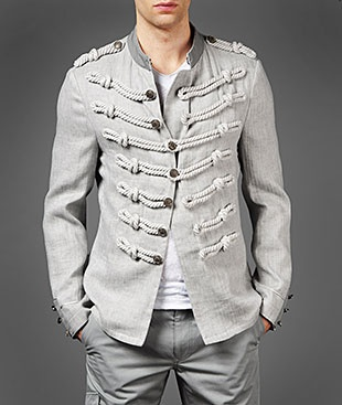 Rope Detail JacketMilitary Jackets, Womens Fashion, Marching Band, Ropes Details, Details Jackets, Men Fashion, Military Style, Men Jackets, John Varvatos