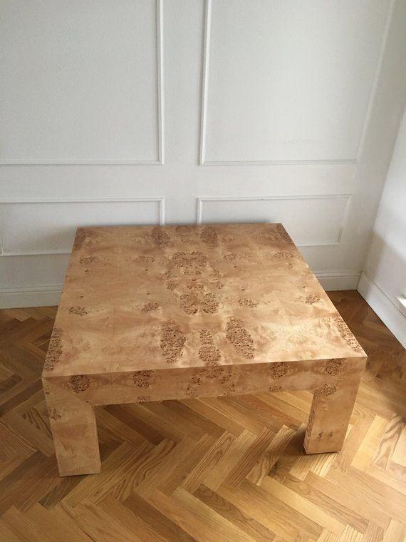 Custom Built Burlwood Coffee Table In 2019 Interior Design Table House Styles Furniture Inspiration