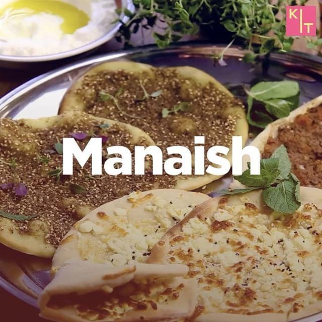 """179 gilla-markeringar, 4 kommentarer - KIT Mat (@kit_mat) på Instagram: """"Manaish är ljuvliga och smakrika pizzor som äts i många länder runt och i Mellanöstern. De kan…"""""""