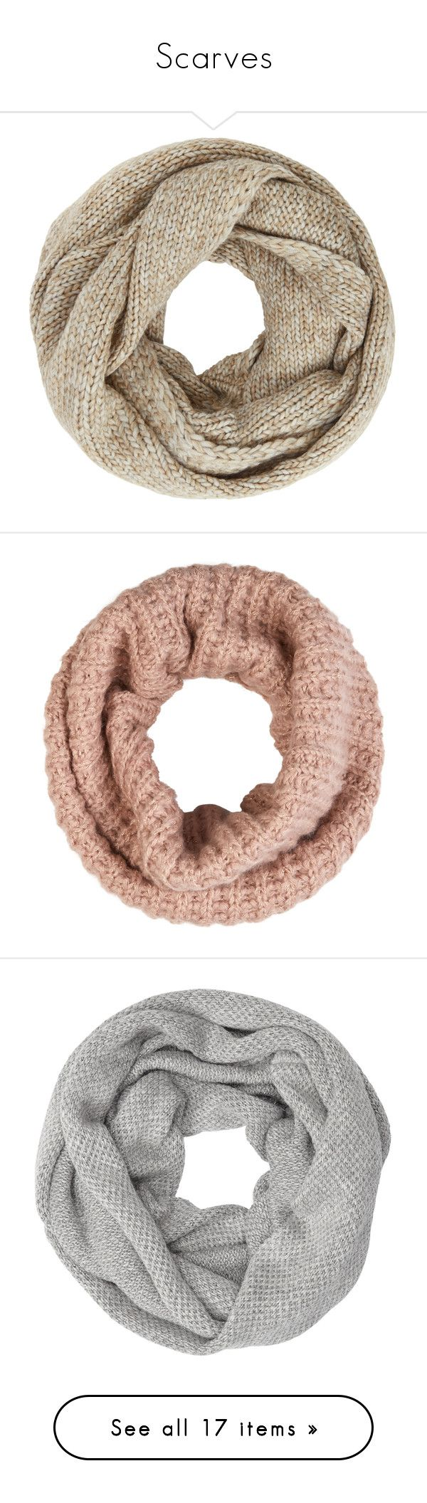 """""""Scarves"""" by qwerty-16-polyvore ❤ liked on Polyvore featuring accessories, scarves, extras, chunky scarves, john lewis, snood scarves, accessorize scarves, sparkly scarves, metallic scarves and metallic shawl"""