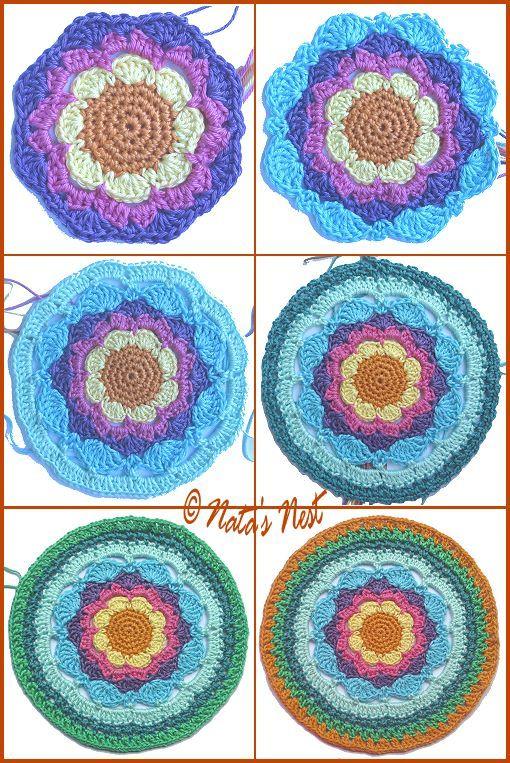 Heute Gibts Mal Wieder Eine Neue Mandala Anleitung Für Euch Eige