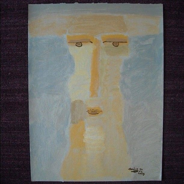 Mexican. 2009.  Acrylic on paper.  40x30cm  $180