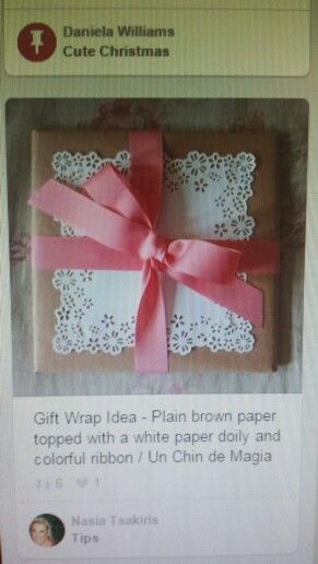 Paper punch gift wrapping