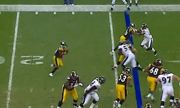 Steelers Throwback Thursday: Antonio Brown's First Career Catch