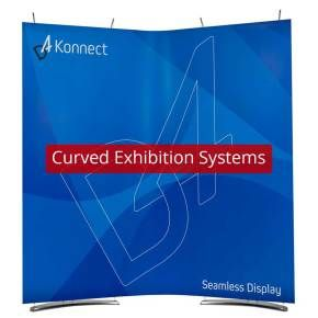 Shop for Curved Exhibition Systems