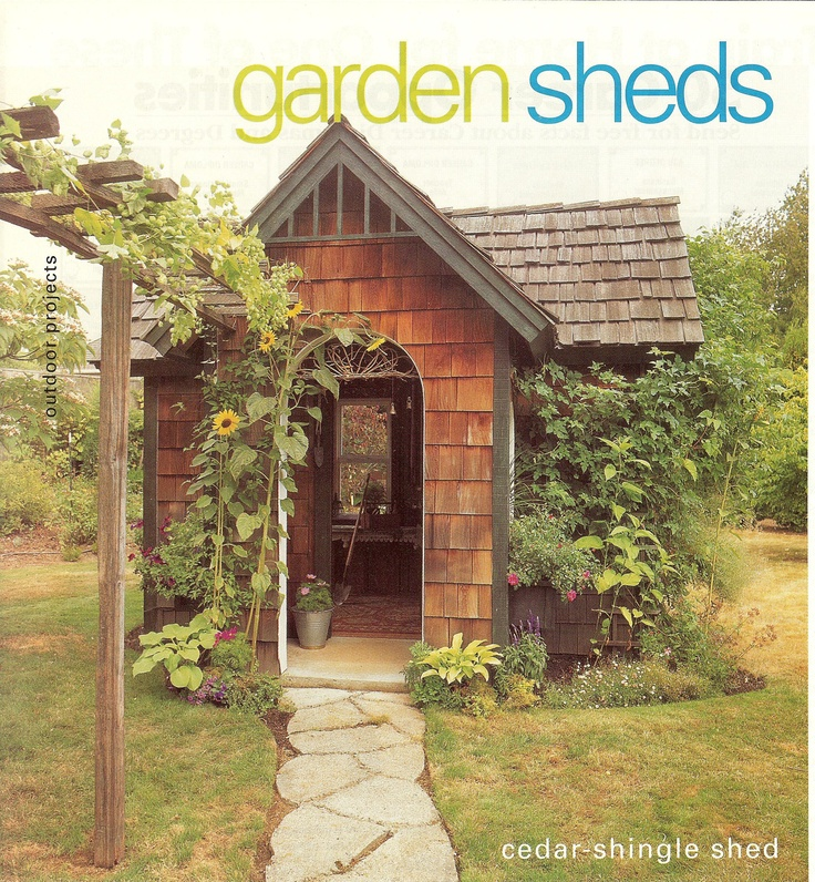 garden shed or small cabin?